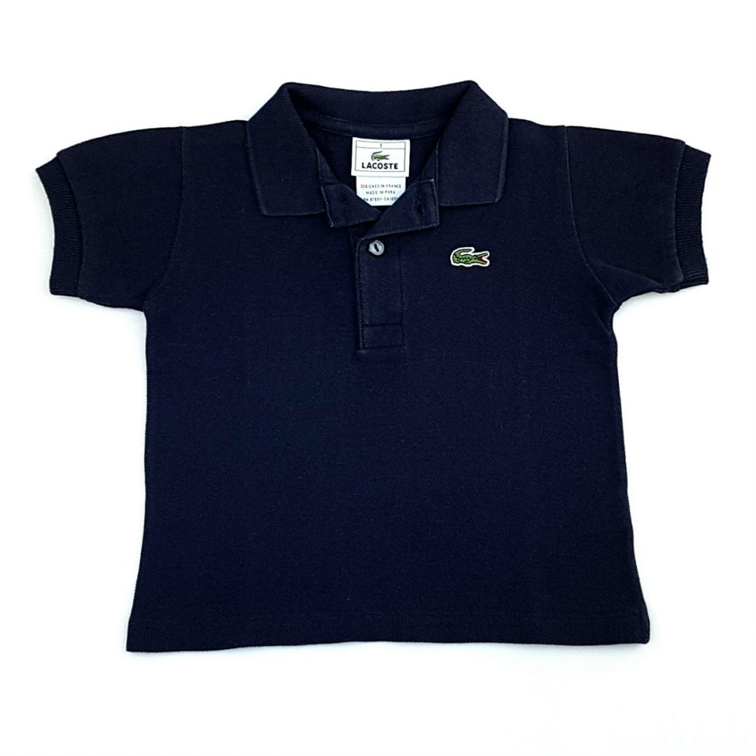 Camiseta Polo Azul Marinho Lacoste – Pig Pega ac617bf7ce347