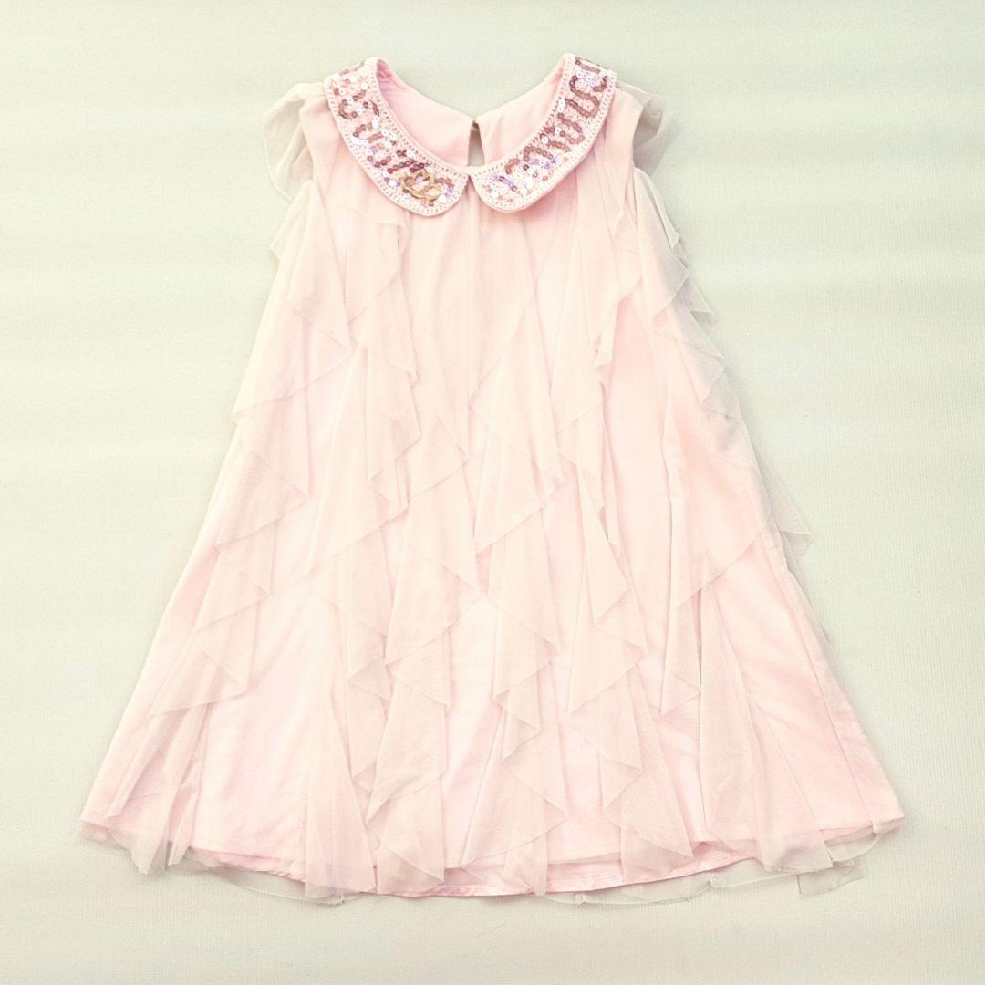 14e835f90 Vestido Rosa com Babados Lilica Ripilica – Pig Pega