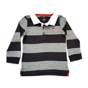 Camisa Polo Gola Branca Carter's