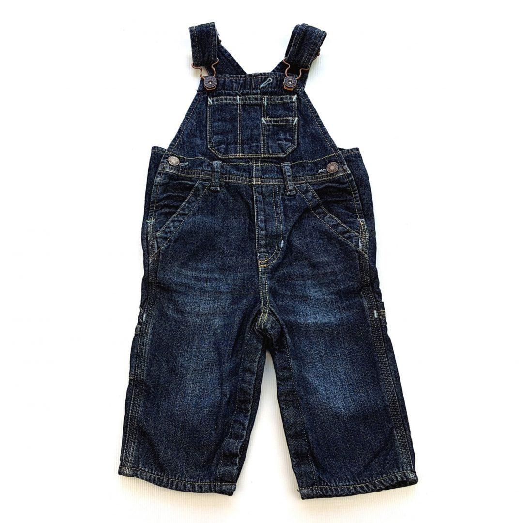 1fa8ba0f8c Jardineira Jeans Baby GAP – Pig Pega